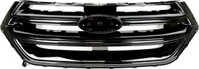 Ford EDGE 2015 - GRILL ATRAPA CZARNY POŁYSK _ FT4Z-8200-CA